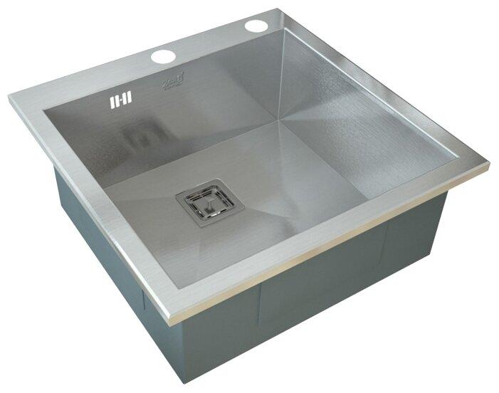 Врезная кухонная мойка ZorG INOX X-5151 GX