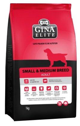 Корм для собак Gina Elite Small & Medium Breed Adult
