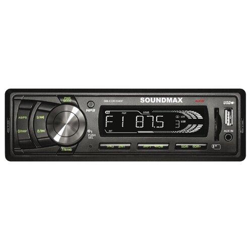Автомагнитола SoundMAX SM-CCR3049F, черная