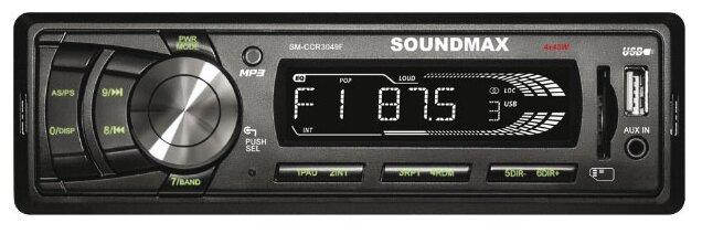SoundMAX SM-CCR3049F  черный