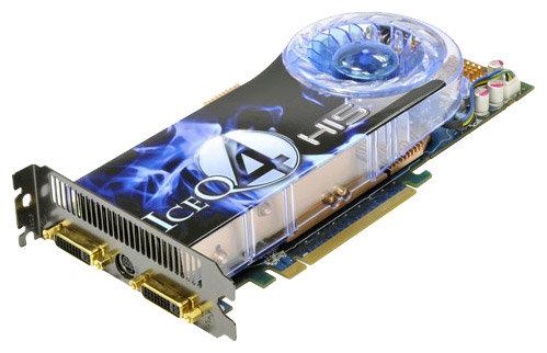 Видеокарта HIS Radeon HD 4850 625Mhz PCI-E 2.0 512Mb 1986Mhz 256 bit 2xDVI TV HDCP YPrPb IceQ 4