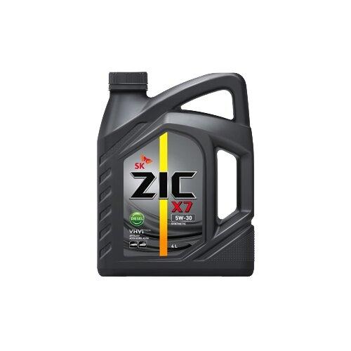 Моторное масло ZIC X7 DIESEL 5W-30 4 л