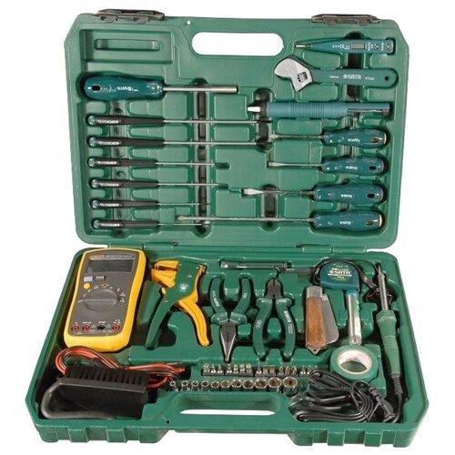Набор инструментов SATA (53 предм.) 09535 зеленый ящик для инструментов sata 95166