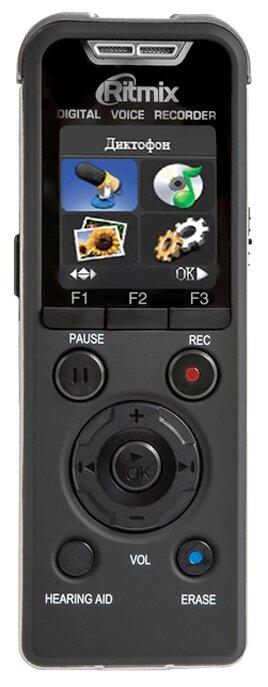 Цифровой диктофон Ritmix RR-980 4Gb черный