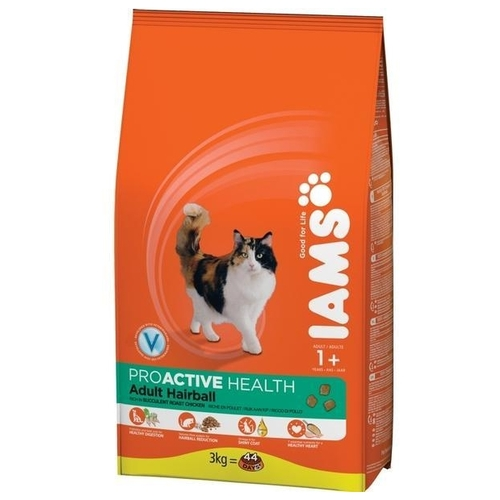 Корм для кошек Iams ProActive Health Adult Hairball (10 кг)