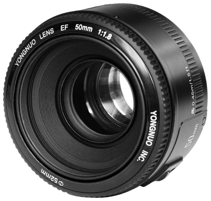 YongNuo Объектив YongNuo AF 50mm f/1.8 Nikon F