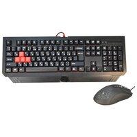 Клавиатура и мышь A4Tech Bloody Q1500 Black USB