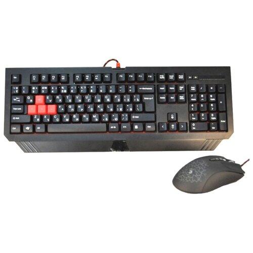Купить со скидкой Клавиатура и мышь A4Tech Bloody Q1500 Black USB