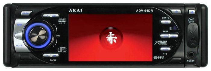Автомагнитола Akai ADV-64DR