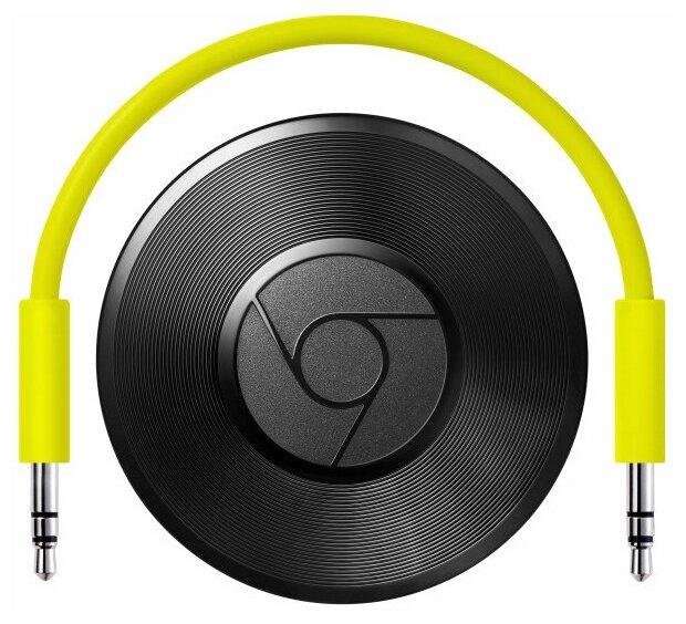 Стационарный медиаплеер Google Chromecast Audio Black