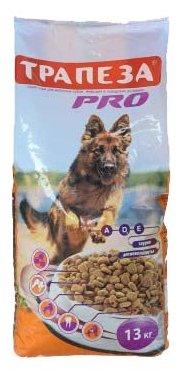 Трапеза Pro Сухой корм для собак с повышенной периодической активностью (13 кг)