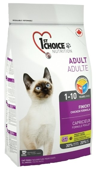 1st Choice FINICKY for ADULT CATS (2.72 кг)