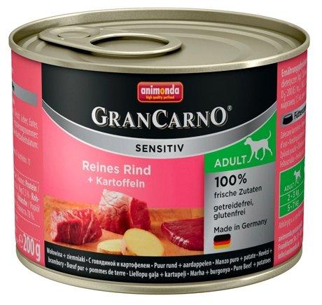 Корм для собак Animonda GranCarno говядина с картофелем 200г