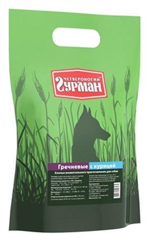 Корм для собак Четвероногий Гурман Гречневые хлопья курица 2.7 кг