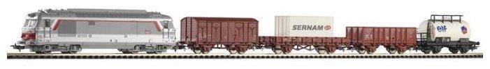 "PIKO Стартовый набор ""Грузовой поезд SNCF BB 67440"", серия Hobby, 96950, H0 (1:87)"