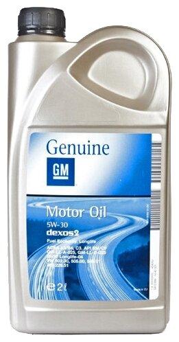Купить Моторное масло GENERAL MOTORS Dexos2 Longlife 5W30 2 л по низкой цене с доставкой из Яндекс.Маркета