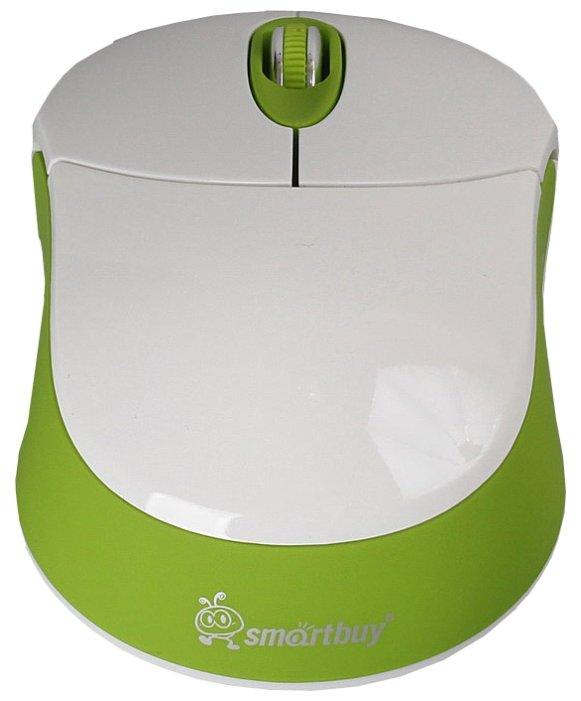 Мышь SmartBuy SBM-337AG-WN White-Green USB