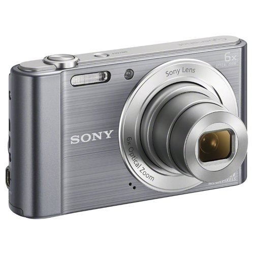 Фотоаппарат Sony Cyber-shot DSC-W810 серебристый  - купить со скидкой