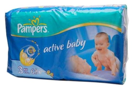 Pampers Active Baby 3 (4-9 кг)