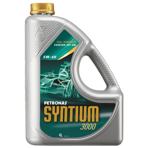Моторное масло Petronas Syntium 3000 5W40 4 л