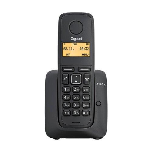 Радиотелефон Gigaset A120A черный