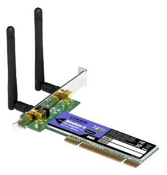 Wi-Fi адаптер Linksys WMP54GR