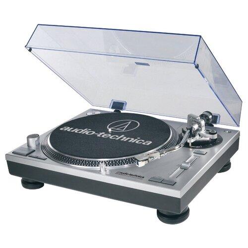Виниловый проигрыватель Audio-Technica AT-LP120-USBHC серебристый