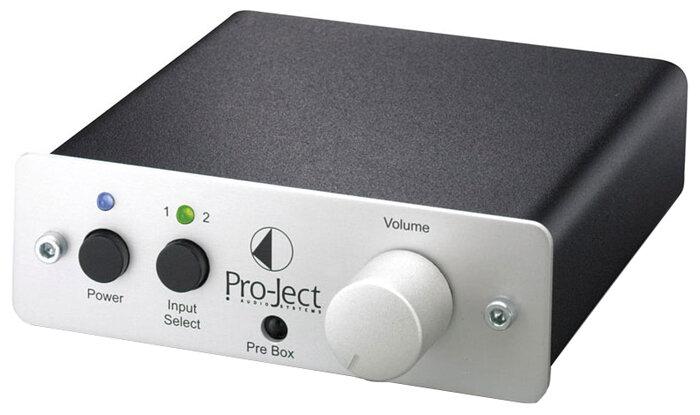 Pro-Ject Pre Box DS Silver