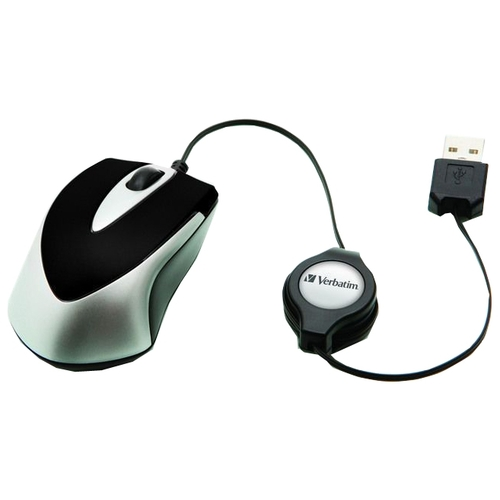 Мышь Verbatim Optical Travel Mouse Go Mini Black USB