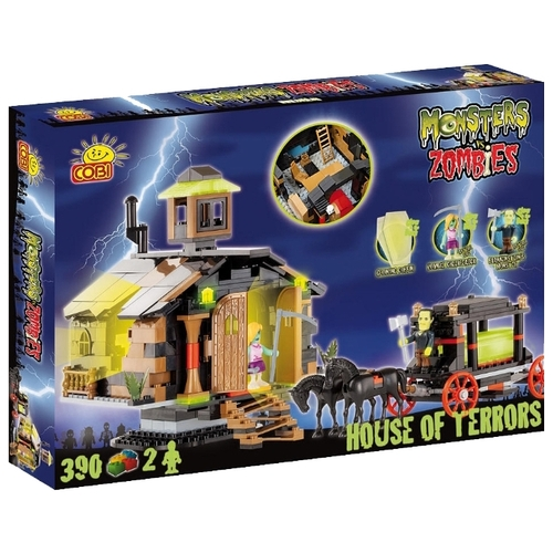 Конструктор Cobi Monsters vs. Zombies 28390 Дом ужасов