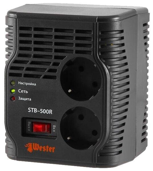 Стабилизатор напряжения однофазный Wester STB-500R (0.4 кВт)