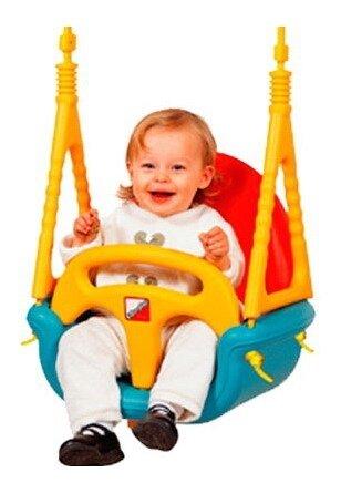 Edu-play Детские качели подвесные Малыш