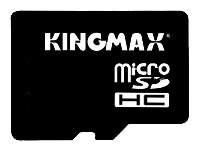 Kingmax microSDHC Class 4 Card 16GB + SD adapter