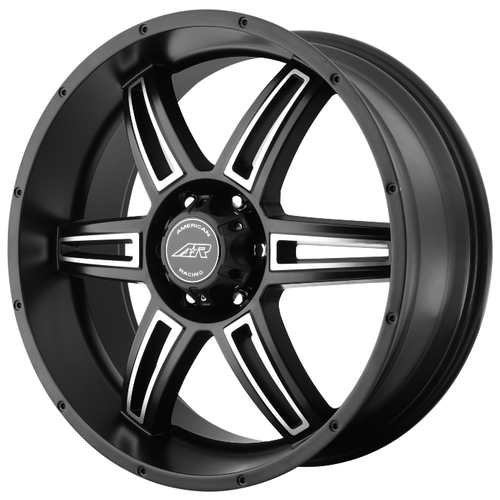 Колесный диск American Racing AR-890 8x16/6x139.7 ET0 Black