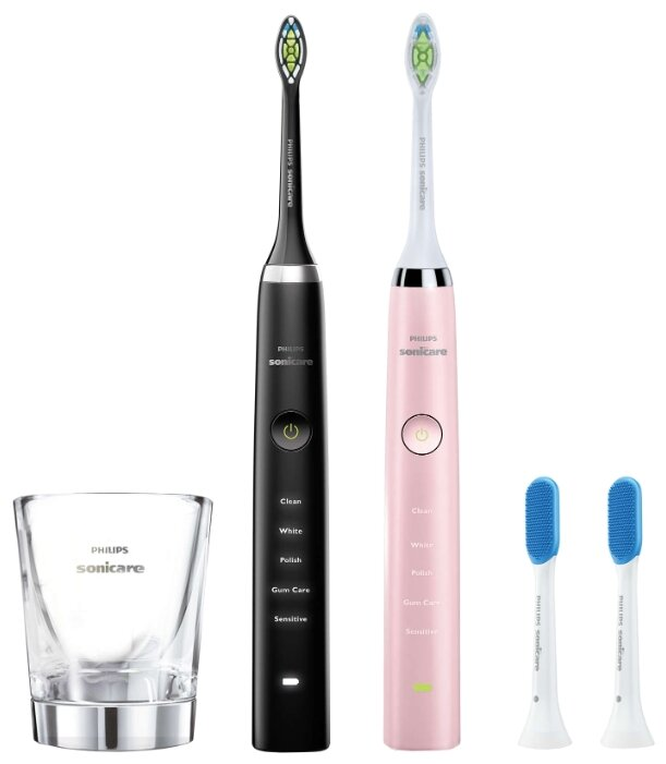 Электрическая зубная щетка Philips Sonicare DiamondClean HX9368/35