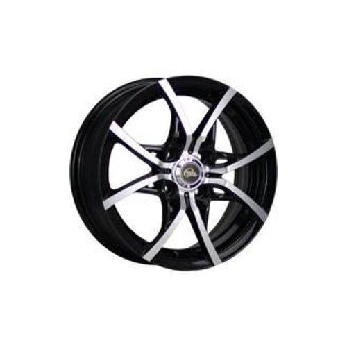 Фото - Колесный диск Cross Street Y-5314 5.5x14/4x100 D56.6 ET49 BKF колесный диск cross street y3176 6x15 4x100 d60 1 et49 silver