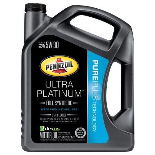 Фото - Моторное масло Pennzoil Ultra Platinum SAE 5W-30 4.73 л моторное масло pennzoil gold synthetic blend sae 5w 30 0 946 л