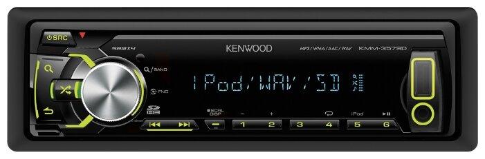 Автомагнитола KENWOOD KMM-357SD