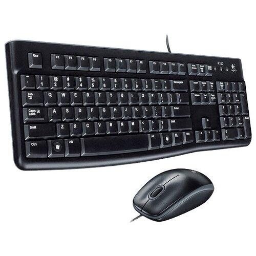 Купить Клавиатура и мышь Logitech Desktop MK120 Black USB