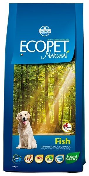 Корм для собак Farmina Ecopet рыба 12 кг (для крупных пород)