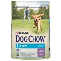 Dog Chow Puppy сухой полнорационный корм для щенков (с ягненком) 800 гр. арт. 24.354