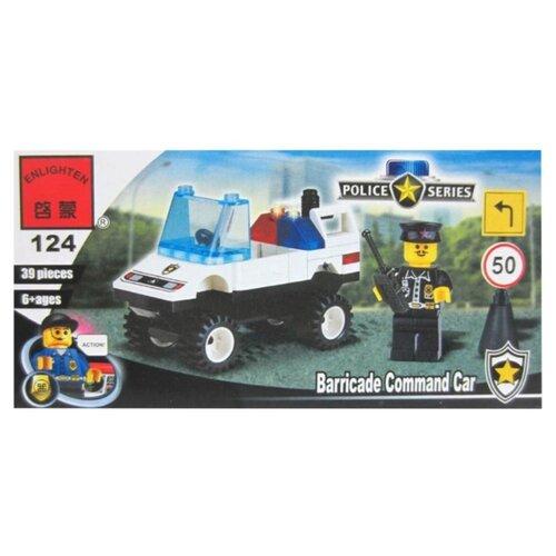 Купить Конструктор Qman Police 124 Дорожный патруль, Конструкторы