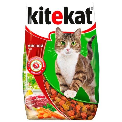 Корм для кошек Kitekat (1.9 кг) Сухой корм Мясной ПирКорма для кошек<br>