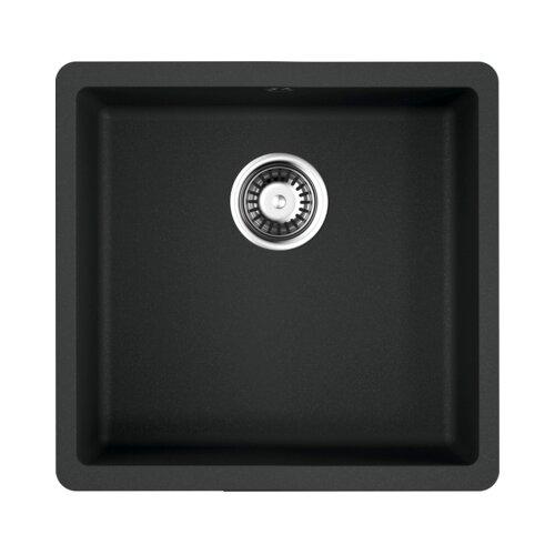 Врезная кухонная мойка 44 см OMOIKIRI Kata 44-U 4993403 черный