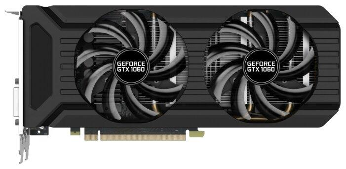 Palit Видеокарта Palit GeForce GTX 1060 1506MHz PCI-E 3.0 3072MB 8000MHz 192 bit DVI HDMI HDCP