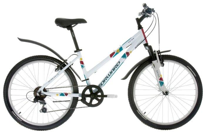 Подростковый горный (MTB) велосипед FORWARD Seido 24 1.0 (2017)