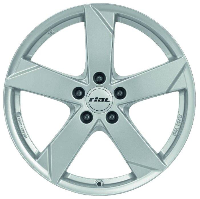 Колесный диск RIAL Kodiak 7x17/5x112 D57.1 ET45 Polar Silver