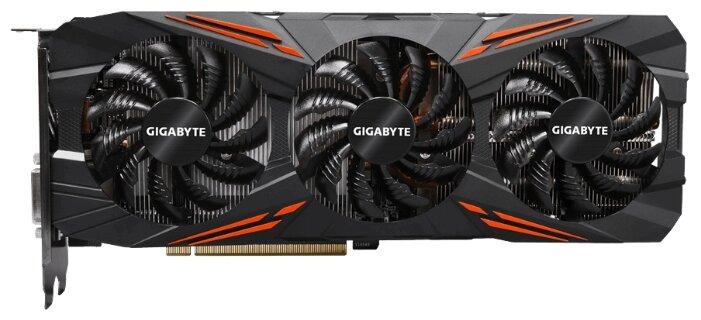 GIGABYTE Видеокарта GIGABYTE GeForce GTX 1080 1721MHz PCI-E 3.0 8192MB 10010MHz 256 bit DVI HDMI HDCP