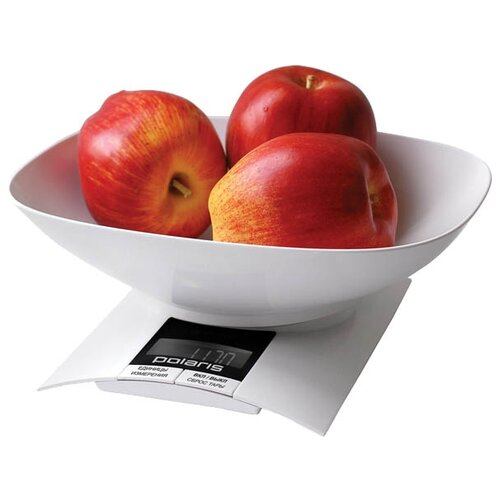Кухонные весы Polaris PKS 0323DL белый