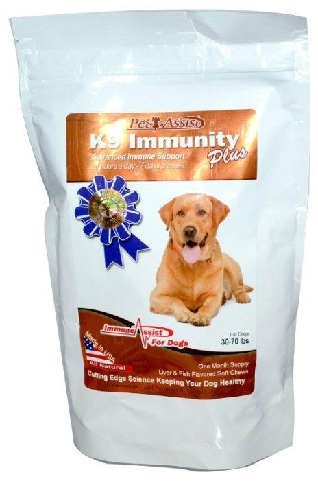 Aloha Medicinals K9 Immunity Plus для собак со вкусом печени и рыбы